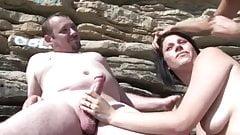 Plajda Grup Seks İzle